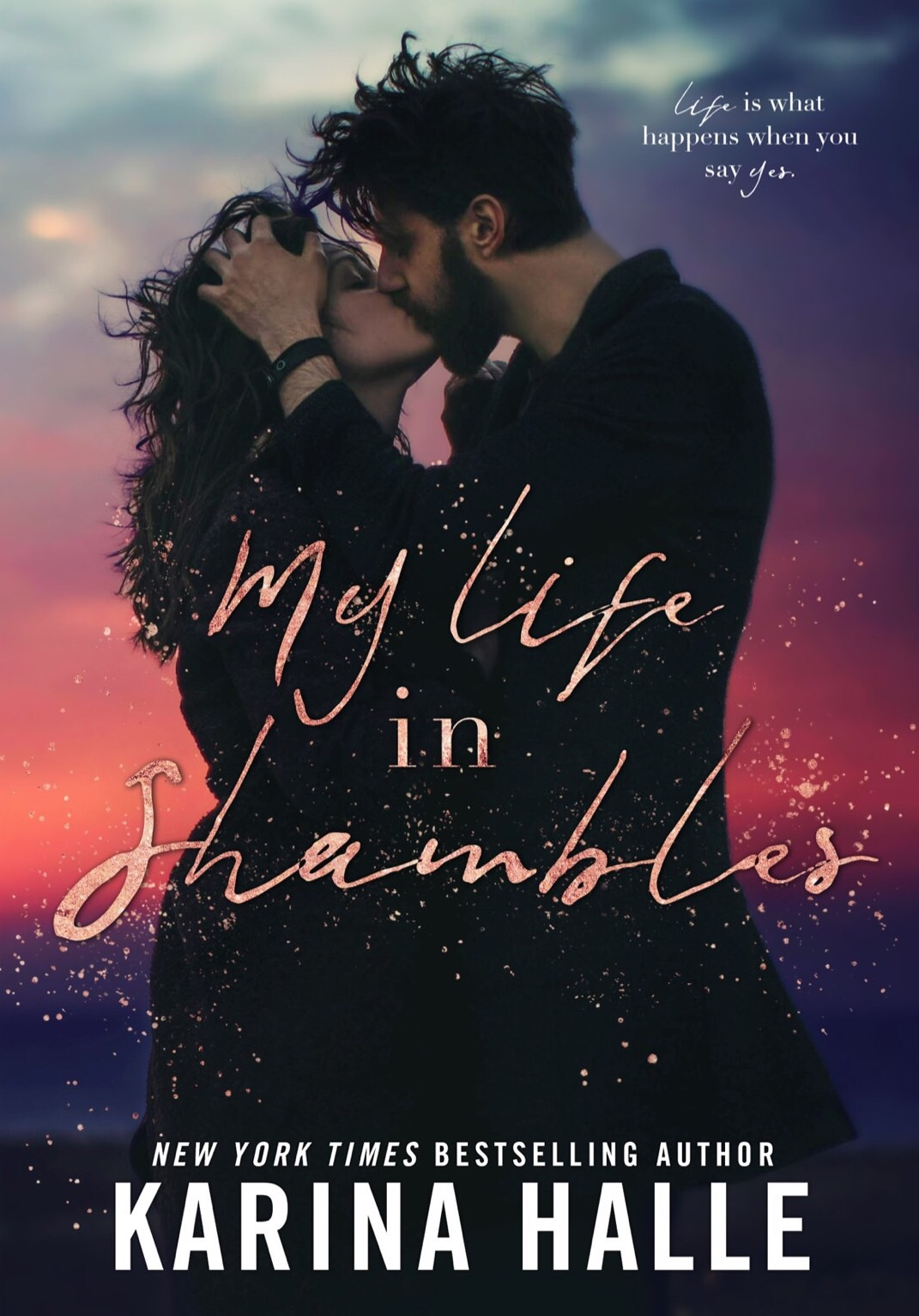 Geliebte COVER REVEAL: My Life in Shambles by Karina Halle | Fairest Of All @KY_81